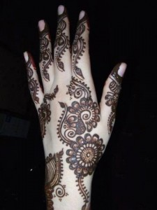 Mehndi designs for wedding functions