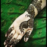 Latest Mehndi for girls