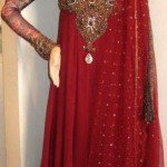 Neck embroidered pakistani dresses