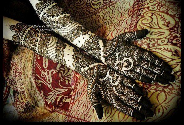 Mehndi Designs For Feet Bridal : New bridal mehndi designs in for hands and feet