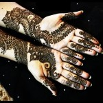 New mehndi designs for brides