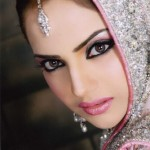 Pink bridal makeup pictures