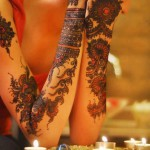 Stylish bridal mehndi designs