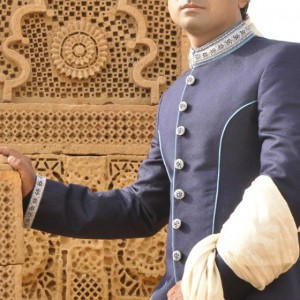 Stylish sherwani by junaid jamshed