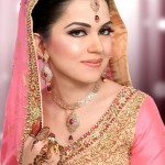Walima makeup pakistani bride