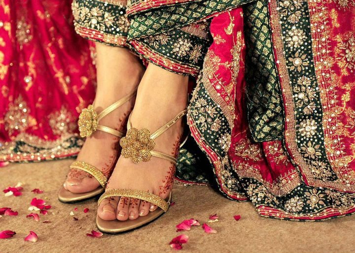 Bridal Shoes Designs and Trends in Pakistan