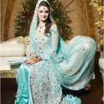 Pakistani bridal walima dresses &#8211; Latest collection of walima dresses 2013