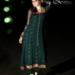 forest green party dresses