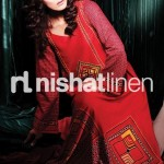 Winter dresses in graphic prints  Pakistani dresses with graphic designs 
