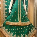 green bridal dress designs 2013