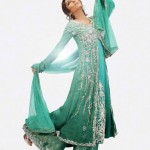 green dress by nilofer shahid