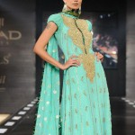 pakistani dresses in green color