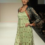 stylish dresses in green shade