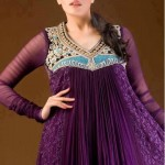 stylsih frocks for girls 2013