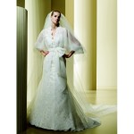 white wedding gown for brides