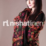 winter outfits for girls by nishat linen