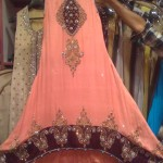 Latest Pakistani tail dresses 2013