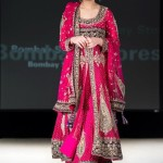 Bridal open shirt with lehnga