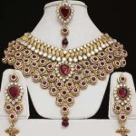 Bridal sets in kundan design