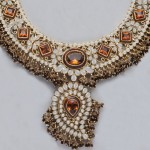 Gemstone jewelry for bride