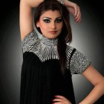 High neck pakistani dresses