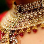 Indian bridal kundan jewelry