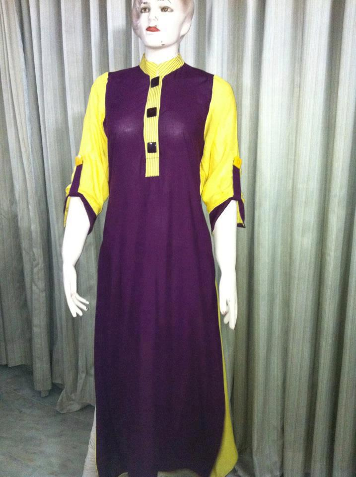 Pakistani Ladies Kurta Designs 2013