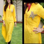 Ladies kurta designs – Casual kurta designs 2013