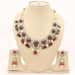 Latest designs of kundan jewelry