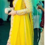 Mehndi dress designs 2013