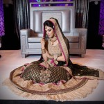 Latest styles of bridal dresses 2013 –  Pakistani and Indian bridal dresses