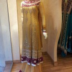Traditional bridal mehndi dresses