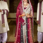 Traditional pakistani wedding gown