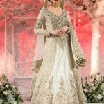 Walima dresses in white color