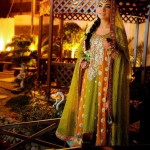 Stylish mehndi dresses for brides