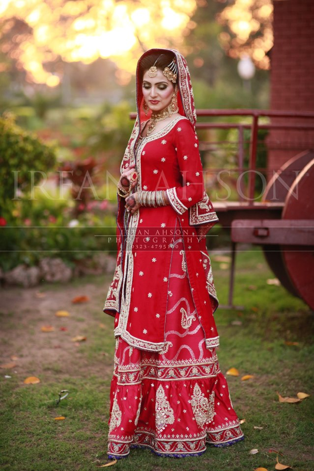 Tolle Red Pakistani Wedding Dresses Bilder - Brautkleider Ideen ...