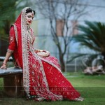 Bridal dresses in red color &#8211; Traditional Pakistani bridal dresses