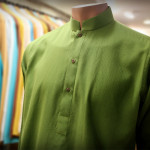 Green kurtas for men