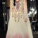 Pakistani formal dresses neck embroidery
