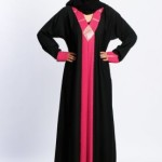 Open front abaya