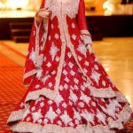 Red bridal lehnga design-Bridal dresses in red color-Bridal dresses in red color 2013
