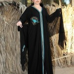 abaya designs for open front