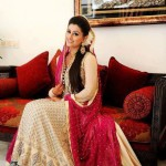 pakistani bridal dresses in maxi styles