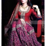 pakistani red bridal dresses