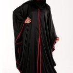 simple abaya designs 2013