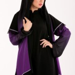simple black abaya fashion