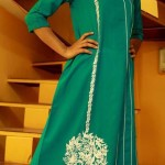 Branded ladies kurta designs by hina adeel