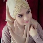 Bridal hijab fashion