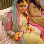 Bridal mehndi and mayoon dresses