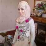 Hijab designs for brides